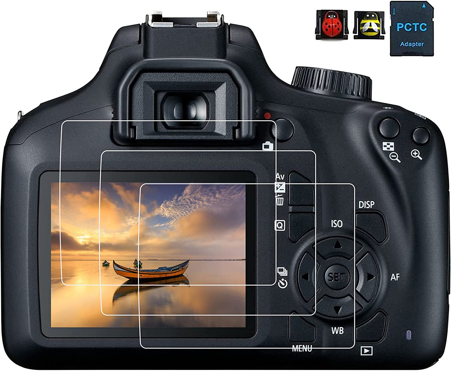 EOS Max 73% OFF 4000D Max 75% OFF Screen Protector for T100 3000D Canon Rebel