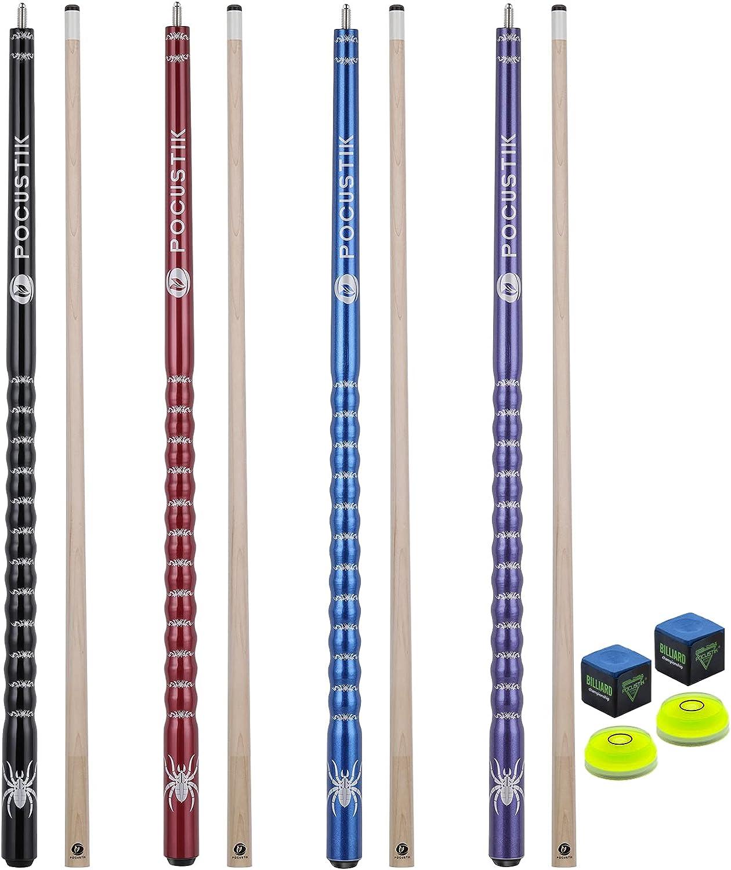 POCUSTIK Pool Cue Sticks 58