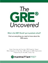 GRE Uncovered (Manhattan Prep GRE Strategy Guides)