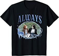 Kids Harry Potter Snape And Lily Patronus Frame Always Portrait T-Shirt