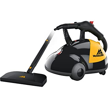 McCulloch MC1275 Heavy-Duty Steam Cleaner with 18 Accessories, Extra-Long Power Cord, Chemical-Free Pressurized Cleaning for Most Floors, Counters, Appliances, Windows, Autos, and More
