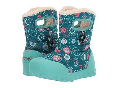 Bogs Kids B Moc Bullseye (Toddler/Little Kid) (Turquoise Multi) Girls Shoes