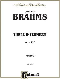 Three Intermezzi, Op. 117