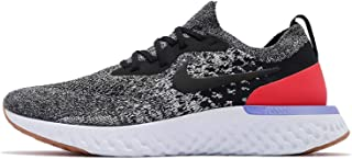 9f06ac07fcc2fc Nike Epic React Flyknit, Chaussures de Running Homme, Schwarz  Black-White-Red