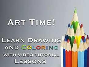 Art Time! Learn Drawing and Coloring with Video Tutorial Lessons