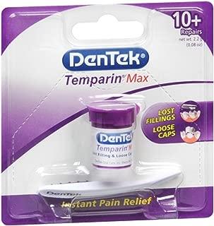 DenTek Temparin One Step Lost Filling Repair 1 Each (Pack of 2)