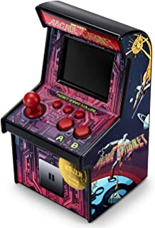 RUIER Retro Mini Arcade Game Machines with 220 Classic Handheld Video Games Portable Gaming Arcade Cabinet Children Tiny Toys Novelty Electronics for Boys Girls-Eye Protection