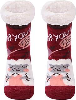 Gather Other, Gruesos cachemira lana calcetines de piso, casa abrigados calcetines de mujeres, antideslizantes tejidos calcetines de alfombra