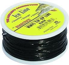 Woodstock Line VTU-25-30-B No. 30 Tip-Up Line, Black Vinyl Coated, 25-Yard