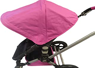 Pink Sun Shade Canopy Hood Cover Umbrella for Bugaboo Cameleon 1, 2, 3, Frog Baby Child Strollers