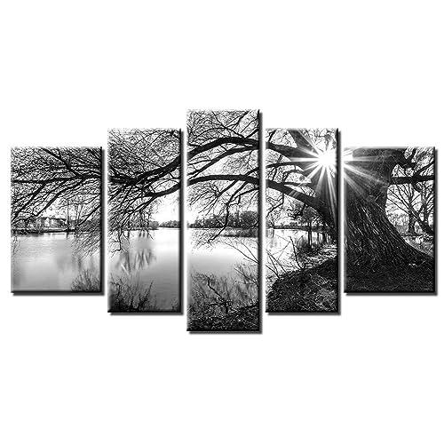 Black and Grey Wall Decor: Amazon.com