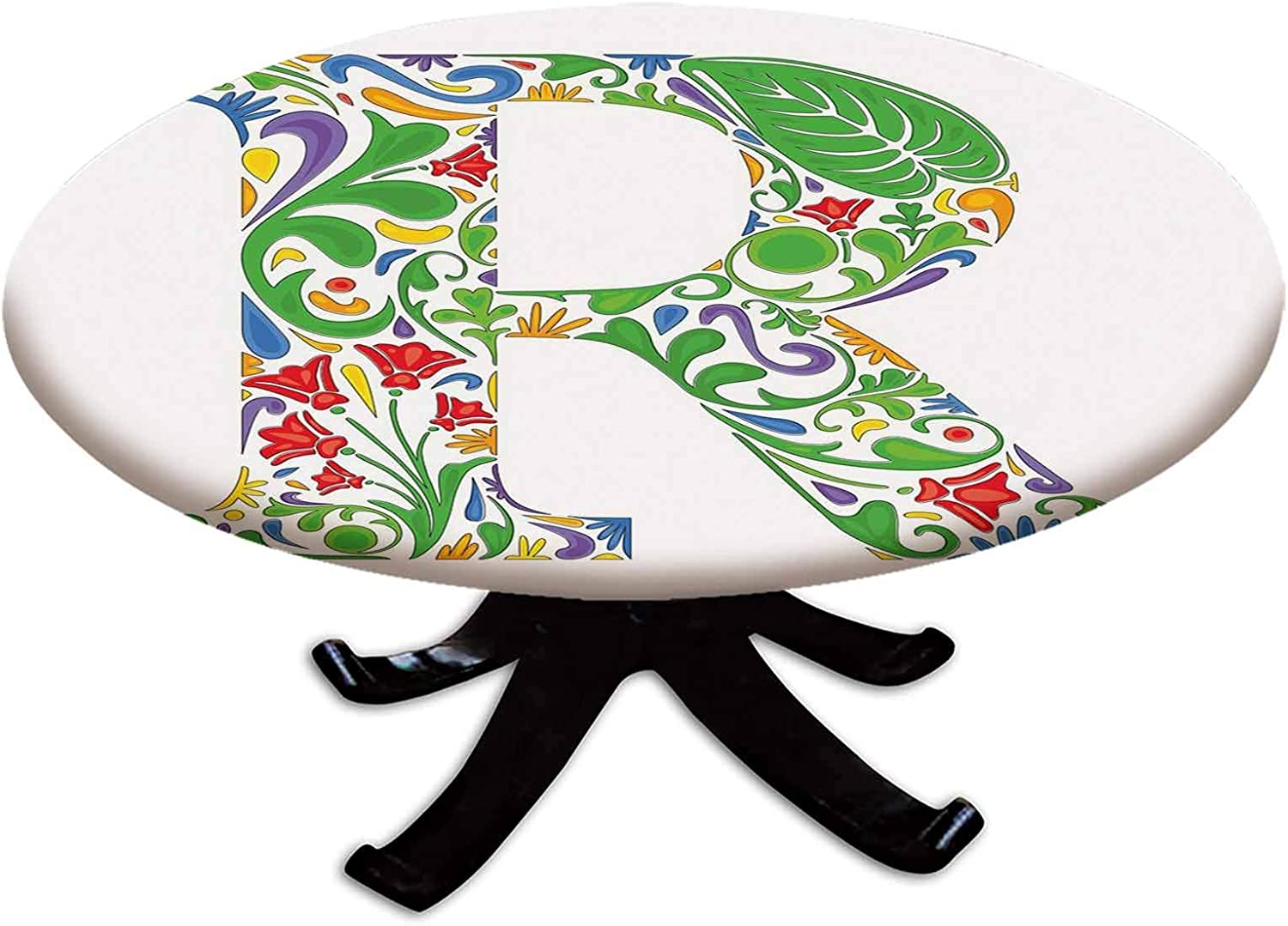 Elastic Edged Polyester Fitted Table Upperca Themed Cover Floral セール特価品 新作からSALEアイテム等お得な商品 満載