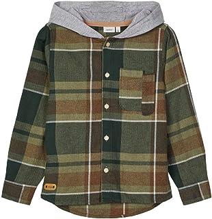 NAME IT Nkmlion LS Shirt W. Hood Sudadera para Niños