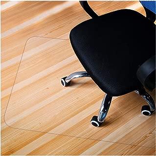 GIOVARA Alfombrilla Transparente para Silla para Suelos Duros, Rectangular, Alta Resistencia al Impacto, Antideslizante, Material no reciclable (90 x 120 cm (3'x4'))