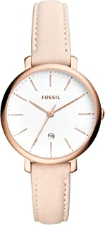 Fossil Casual Ladies Wrist Watch, Beige