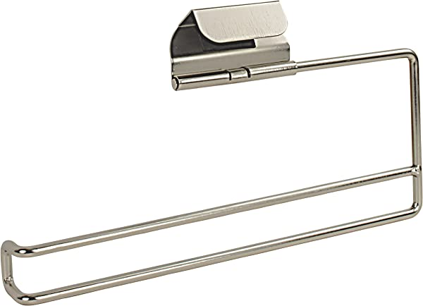 Spectrum Diversified Over The Drawer Over The Cabinet Paper Towel Holder Brushed Nickel