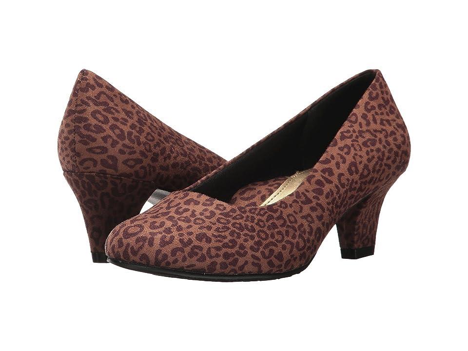 Soft Style Gail (Tan Leopard) High Heels