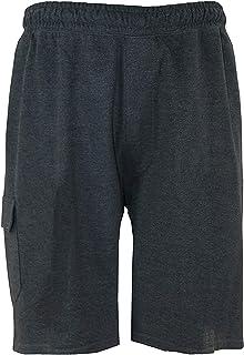 D555 Mens John Big Tall King Size Lightweight Cotton Cargo Shorts