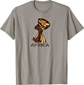 Africa T-shirts for Women