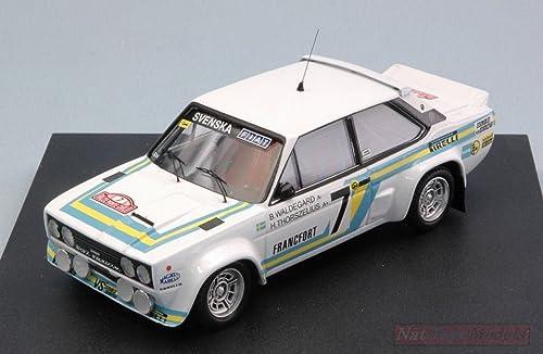 Los mejores precios y los estilos más frescos. Trofeu Trofeu Trofeu TF1414 FIAT 131 Abarth N.7 Monte Carlo 1980 WALDEGAARD-THORSZELIUS 1 43 Compatible con  bienvenido a orden