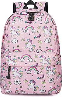 Unicorn Backpack Girl School Bag Kid Bookbag Cute Lightweight Pink