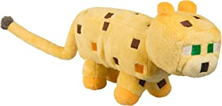 "JINX Minecraft Ocelot Plush Stuffed Toy, Yellow, 14"" Long"