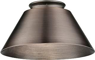Lithonia DMCN BZ M6 Decorative Metal Cone Shade, Bronze