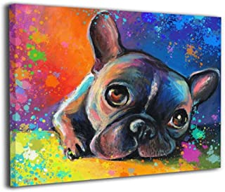 Best colorful bulldog painting Reviews