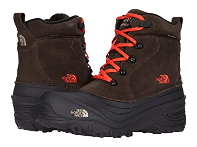The North Face Kids Chilkat Lace II (Toddler/Little Kid/Big Kid) (Coffee Brown/Flare) Kids Shoes
