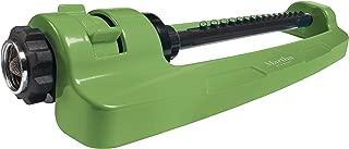 MARTHA STEWART MTS-IDSPR Indestructible Metal Base Oscillating Sprinkler w/Adjustable Spray