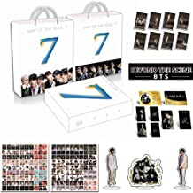 Alikpop Fashion Kpop 2020 New Album Bangtan Boys Gift Map of The Soul 7 BTS Army Box with Photo Book Photo Set HD Poster Bookmarke Album (Army Box)