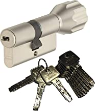 ABUS EC550 profielknopcilinder lengte Z35/K40 mm met 10 sleutels
