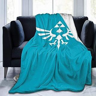 DFTY La l/égende de Zelda Couverture Plaids Flanelle Jeter Couverture Doux Moelleux Canap/é Pique-Nique Surprise en Cadeau 1, 100 * 140CM