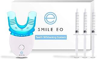 کیت سفید کننده دندان Smile EO با شتاب دهنده LED Blue Light ، سرنگ ژل سفید کننده ، سینی سفید کننده دندان