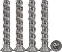 Drenky 25 stuks M5x50 Torx schroeven met verzonken kop 304 roestvrij staal Machineschroeven universele schroef Schroeven m...