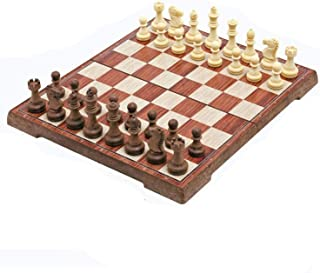 SHY Home Accessories Portable Chess Board Folding Board Chess Game International Chess Set For Party Family Activities