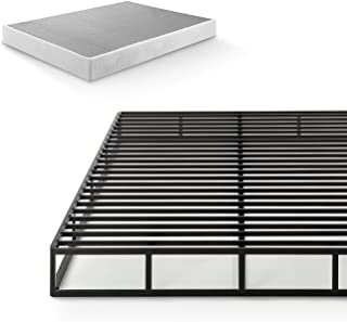 Zinus Victor 7.5 Inch Quick Lock Smart Box Spring / Mattress Foundation / Strong Steel Structure / Easy Assembly, Full