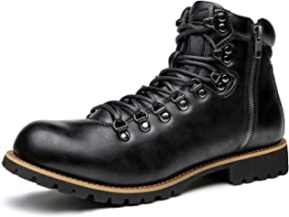 [Setom] マウンテンブーツ トレッキングブーツ チャッカブーツ ブーツ メンズ シューズ サイドジップ エンジニア 靴 革 秋冬