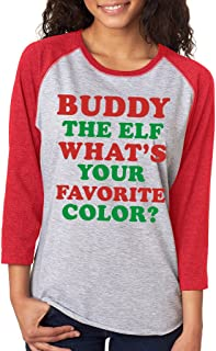 buddy the elf what's your favorite color sweater