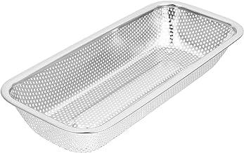 YARNOW Stainless Steel Utensil Drying Drainer Rack Chopsticks Spoon Fork Drain Basket Tableware Dinner Service Holder Flat...