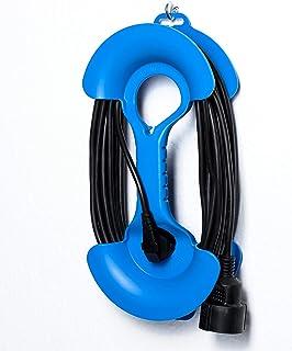 ViD - tambor de cable mano para cables de hasta 25 metros color azul