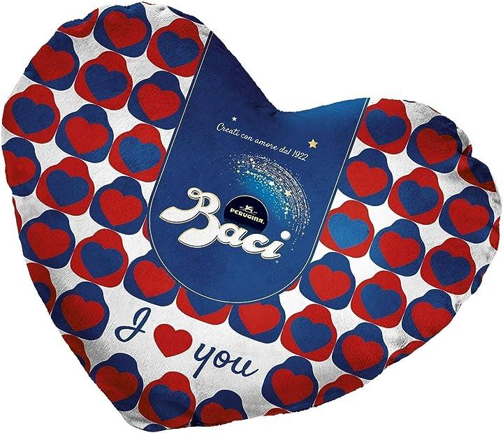 Baci perugina cuscino a forma di cuore - idea regalo san valentino 87,5gr B083P1Y7D6