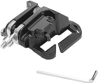 カメラ 腰ベルト ホルダ 簡単 ストラップ アダプター 装着 取り外し 手ぶら コンパクト ベルト ホルダー スリット入り デジカメ コンデジ ミラーレス 一眼レフ カメラマン 装備