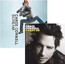 Scream - Carry On - Chris Cornell - 2 CD Album Bundling