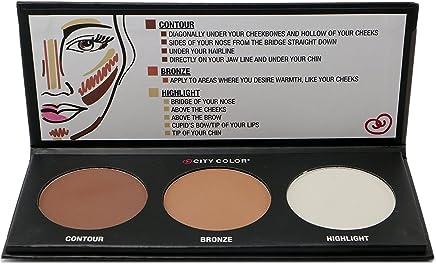 1PC City Color Countour Effects Palette -Contour - Bronze - Highlight #F0005
