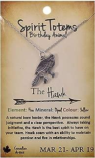 hawk totem jewelry