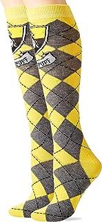 Hyp Harry Potter Hufflepuff Argyle Juniors Knee High Socks