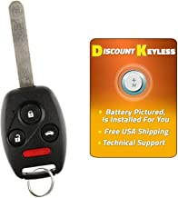 N5F-S0084A MLBHLIK-1T Discount Keyless Replacement Gut Shell Case and Button Pad Compatible with KR55WK49308