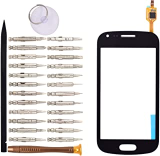 Goodyitou Touch Screen Glass Digitizer Replacement for Samsung Galaxy S Duos S7562(Black)