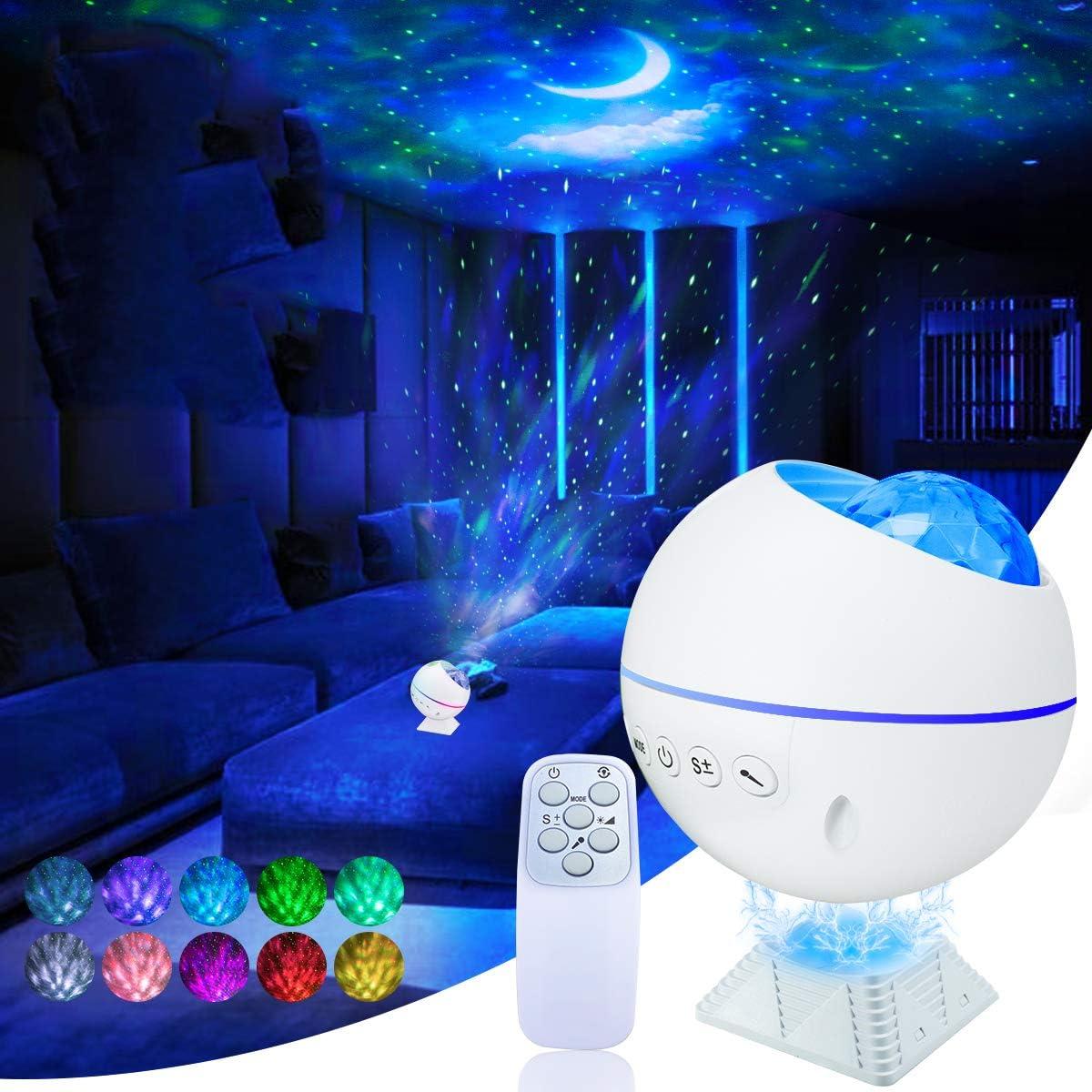 Galaxy Projector Night Light Sta Glow overseas Latest item